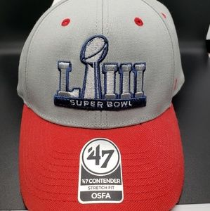 Superbowl 53 logo Atlanta Hat